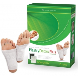 Plastry Detox Plus BioFormula - 30szt
